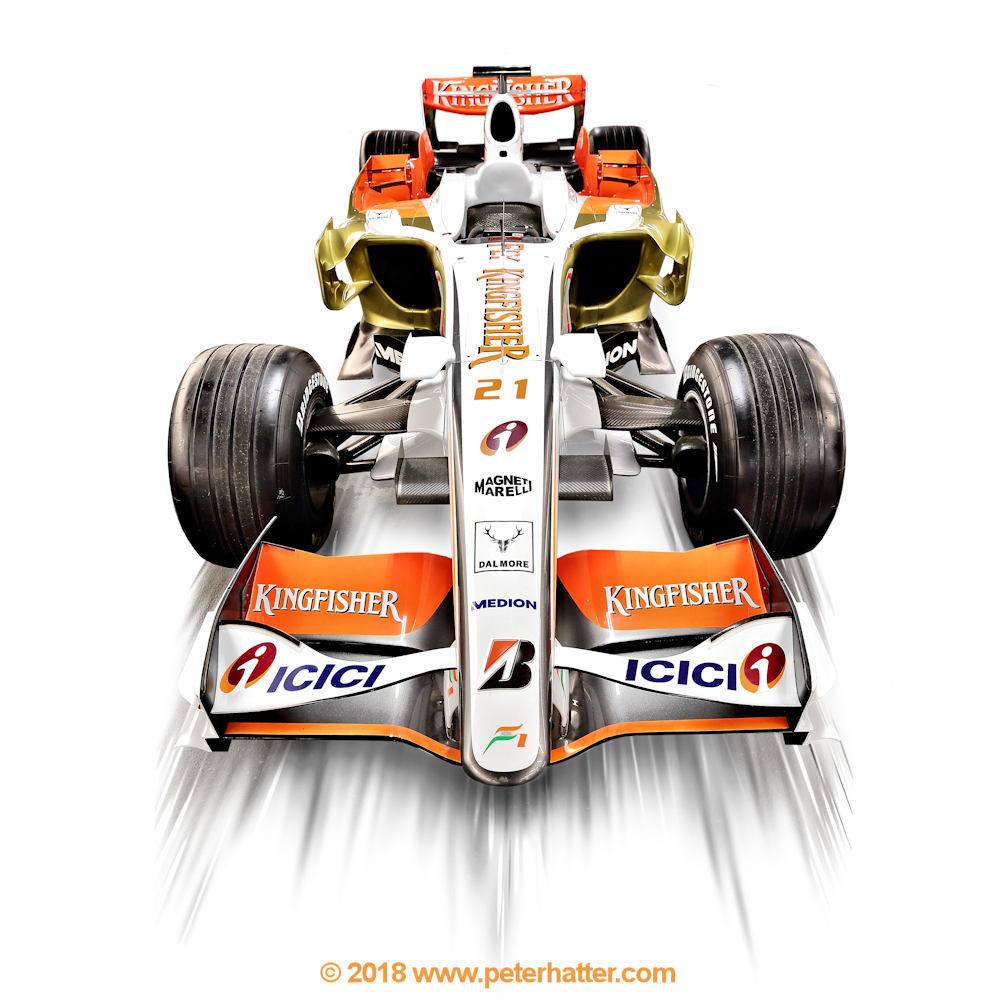 Force India F1 car.